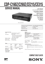 sony cdp ce315 5 disc cd player manuals rh manualslib com yamaha cd-n301 user manual yamaha cd-s300 user manual