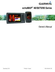GARMIN ECHOMAP 40 SERIES OWNER'S MANUAL Pdf Download