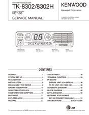 KENWOOD TK-8302 SERVICE MANUAL Pdf Download