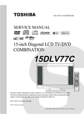 toshiba 15dlv77c manuals rh manualslib com Computer Fan IC EEPROM