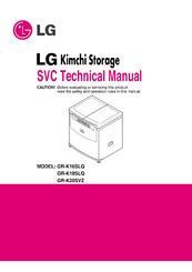 LG GR-K18SLQ Technical Manual