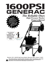 Generac Power Systems 1037-0 Manuals