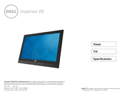 Dell Inspiron 20 Manual