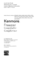 Kenmore 253.28459 User Manual