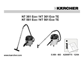 Kärcher NT 561 Eco TE Instruction