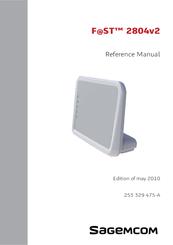 Sagemcom F@ST 2804v2 Manuals