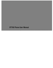 Nec DT700 Series Manuals