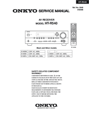 onkyo ht r540 manuals rh manualslib com Onkyo Receiver Parts List Onkyo Remote Control List
