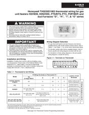 honeywell th5220d1003 digital thermostat 2h manuals rh manualslib com honeywell thermostat th5220d1003 installation manual honeywell th5220d1003 installation manual