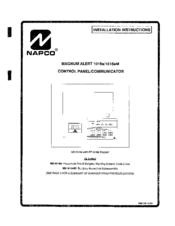napco magnum alert 1016e manuals rh manualslib com Alarm System Keypad Napco Magnum Alert 1008E Manual