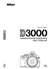 nikon d3000 user manual pdf download rh manualslib com nikon d3100 user guide nikon d7000 user guide