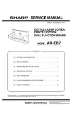 sharp ar eb7 manuals rh manualslib com Sharp AR- M162 Sharp AR- M355N