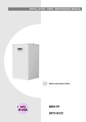 Climaveneta BRH 0101 FF Manuals