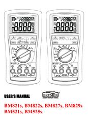 BRYMEN BM821S USER MANUAL Pdf Download