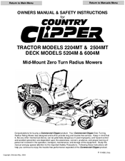 country clipper 2204mt owner s manual safety instructions pdf rh manualslib com