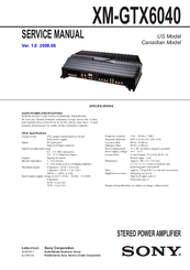 908238_xmgtx6040_product sony xm gtx6040 stereo power amplifier manuals sony xm-gtx6040 wiring diagram at creativeand.co