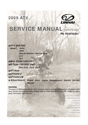 LINHAI 2004 ATV 260 SERVICE MANUAL Pdf Download. on