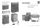 Hohner Symphonic 707 Servicing Instructions