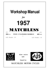 Matchless G11 Manuals Manualslib