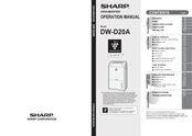 Sharp DW-D20A Operation Manual