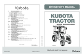 kubota b3000 operator's manual