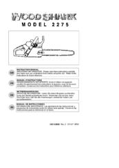 wood shark 2275 manuals rh manualslib com