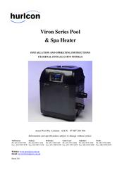hurlcon viron 450 manuals rh manualslib com Lasko Ceramic Heater Manual hurlcon viron pool heater manual
