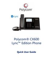 polycom cx600 manuals rh manualslib com polycom cx600 quick user guide polycom cx600 installation guide