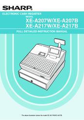 Sharp XE-A217W Instruction Manual
