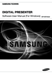 Samsung Digital Presenter Software User Manual