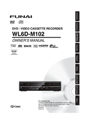 Funai WL6D-M102 Manuals