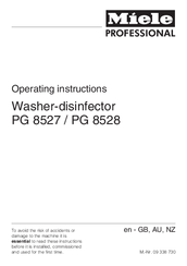 miele pg 8528 manuals rh manualslib com miele pw 6065 service manual miele service manual download g800 pdf zip