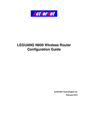 actfornet leguang n900 configuration manual pdf download rh manualslib com