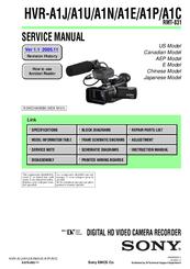 sony hdv hvr a1u manuals rh manualslib com sony a1u manual sony hvr-a1u manual pdf