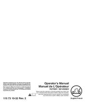 Husqvarna HU700H Manuals