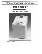 welbilt abm3100 manuals rh manualslib com ABM4100T Welbilt Bread Machine Parts Welbilt Bread Machine Dough Blade