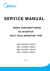 midea msh 12hrdn1 qc6 e manuals midea msh 12hrdn1 qc6 e service manual