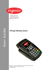 Eft930g handheld payment terminal user manual user guide fcc.