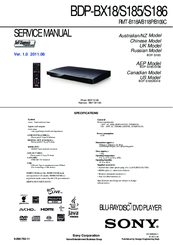 sony bdp s185 manuals rh manualslib com sony bdp-s185 service manual sony blu ray player bdp s185 owners manual