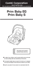Image result for combi prim baby user manual