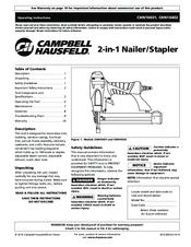 campbell hausfeld chn10401 operating instructions manual pdf download