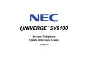 Nec DT400 Manuals