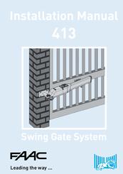 Faac 413 Installation Manual Pdf Download