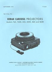 kodak carousel 850h manuals rh manualslib com Kodak Carousel 750H Projector Kodak Carousel Projector Model 550