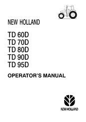 New Holland TD 80D Manuals