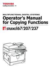 toshiba e studio 167 parts manual