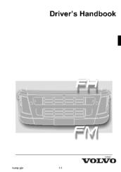 VOLVO FM DRIVER'S HANDBOOK MANUAL Pdf Download