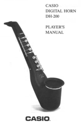 Casio DH-200 Player's Manual