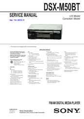 913936_dsxm50bt_product sony dsx m50bt manuals  at cita.asia