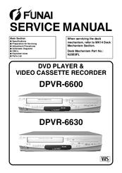 FUNAI DPVR-6600 SERVICE MANUAL Pdf Download